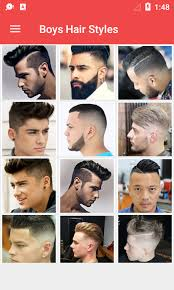list of boys hairstyles latest boys hairstyle 2017 android apps on google play
