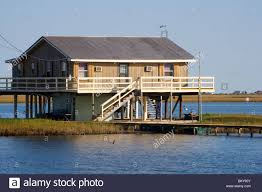 house on stilts near golden meadow south of new orleans