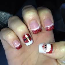 31 good acrylic nail christmas designs u2013 slybury com