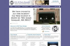 seattle party rentals r r party rentals seattle wedding furniture and rentals
