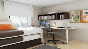 Desk Ideas For Small Bedrooms Wall Mounted Folding Desk Ideas For Small Space Living Homesfeed