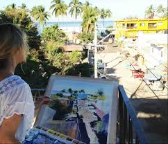 learn watercolour painting with peggy burkosky