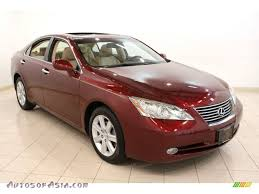 burgundy lexus es 350 car picker red lexus es