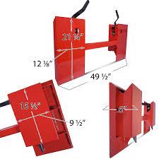amazon com universal skid steer quick attach conversion adapter