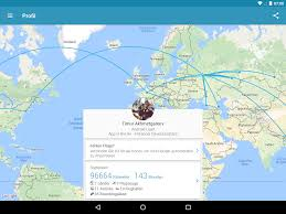 Star Alliance Route Map App In The Air Flug Tracker U2013 Android Apps Auf Google Play