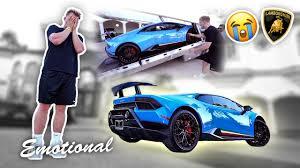lamborghini faze rug finally jake paul bought his dream car