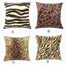 Cheetah Print Blanket Online Get Cheap Leopard Print Pillow Aliexpress Com Alibaba Group