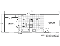 Fleetwood Manufactured Homes Floor Plans Broadmore 14401b Fleetwood Homes