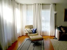 double white curtains in living room front curtains have grommet