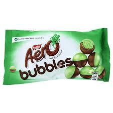 nestle aero bubbles mint 1 26oz 36g