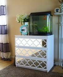 home design mirrored nightstand ikea costa mesa studio