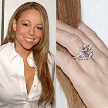 carey wedding ring carey carey s engagement ring is the epitome of a