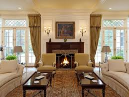traditional living room with carpet u0026 stone fireplace zillow