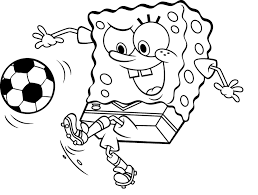 Drawn Football Colouring Page Pencil And In Color Drawn Football Soccer Coloring Page