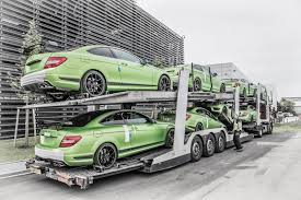 green mercedes benz all 10 legacy edition mercedes amg c63 coupes going to south africa