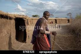 sprague photo stock 07ke515 tribal kenya masai warrior