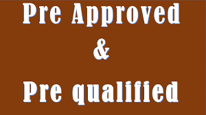 difference between pre approved and pre qualified youtube