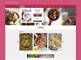web cuisine ออกแบบ website landingpage responsive ux ui แค 10000
