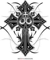 50 cross tattoos designs of holy christian celtic and