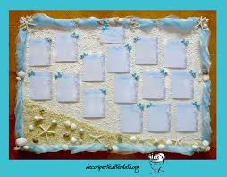 ã e de mariage sea wedding theme seating plan place cards tableau mariage