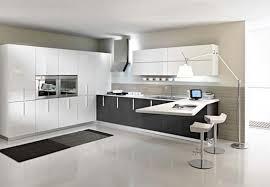 modern white kitchen ideas black and white modern kitchen home design and decorating
