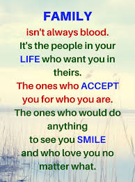 family isnt always blood quotes sayings pictures the daily quotes