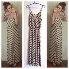 chevron maxi dress 48 hive honey dresses skirts hive honey chevron maxi