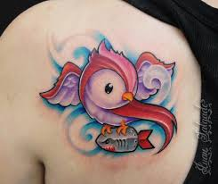new bird tattoo by juan salgado