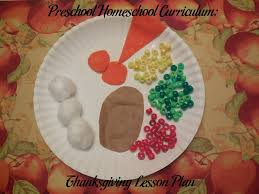 preschool homeschool curriculum thanksgiving lesson plan