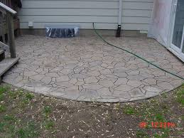 Concrete Patio Tables by Stamped Concrete Patio On Patio Furniture For Fresh Patio Stones