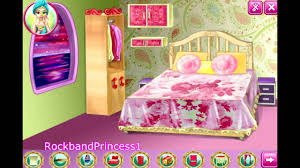 Barbie Decoration Games House Decoration Game Barbie - Bedroom designer game