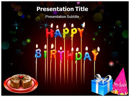 happy birthday powerpoint templates and backgrounds