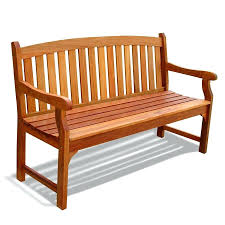 High Back Patio Chair by Classic White Oak Park Benchcurved Outdoor Bench With Back Plans