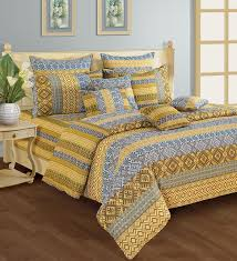 Yellow Patterned Duvet Cover Blue And Yellow Duvet Cover Sweetgalas