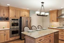 pictures of light wood kitchen cabinets contemporary kitchen with light wood cabinets and kitchen