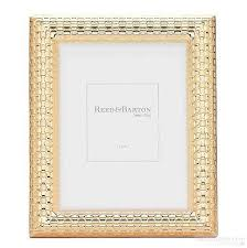 watchband satin gold 5x7 frame by reed barton picture frames