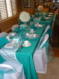 tiffany blue table decorations this year u0027s theme was breakastat
