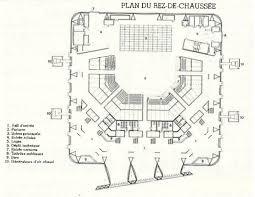 zenith plan salle plan du rez de chaussée salle de spectacle le zénith chaix et