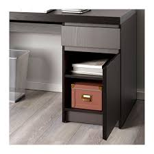 Ikea Expedit With Desk Malm Desk Black Brown Ikea