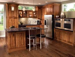 Kitchen Cabinet Color Schemes by White Gloss Lacquered Finish Kitchen Cabinets Country Kitchen