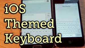 ios 6 keyboard apk make your keyboard look like an iphone keyboard android