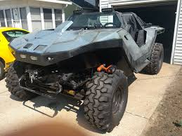 futuristic military jeep halo fan loves the warthog so much he built his own kotaku australia