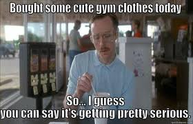 Gym Clothes Meme - 13 thoughts people who don t workout have in the gym