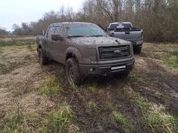 muddy truck a 2013 f150 ecoboost fx4 buried in louisiana mud