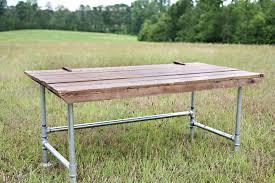 galvanized pipe table legs galvanized pipe desk big and has wide galvanized pipe legs