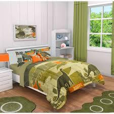 Camo Bedding For Boys Mainstays Kids Dino Camo Comforter Set Walmart Com