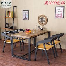 wood and wrought iron table country vintage wrought iron furniture dining table hotel restaurant