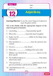 51 english grammar worksheets class 4 instant downloadable