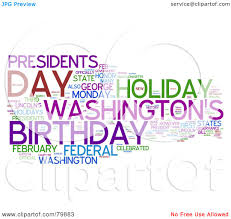 royalty free rf stock clip art of a collage of words presidents