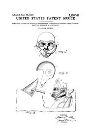 aviator u0027s helmet patent aviation blueprint vintage aviation art